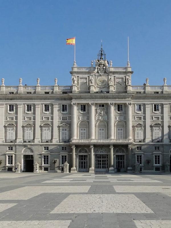 Мадрид. Достопримечательности. Фото Королевского дворца