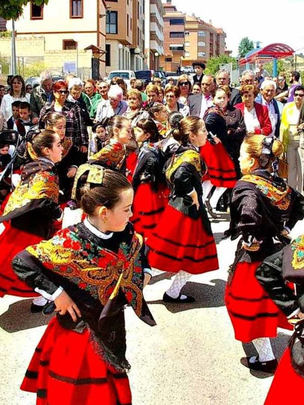 Праздники в Мадриде (фото)