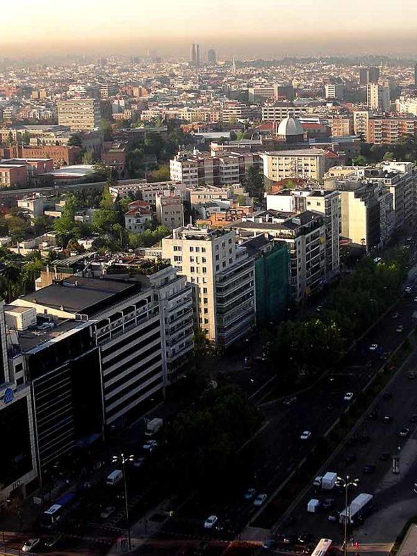 Район Salamanca в Мадриде (фото)