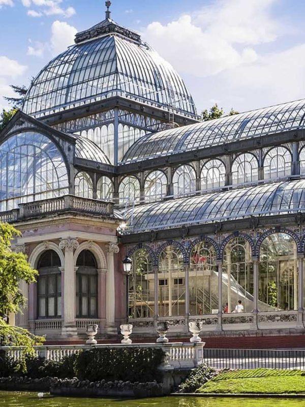 Экскурсия в Хрустальный дворец в Мадриде