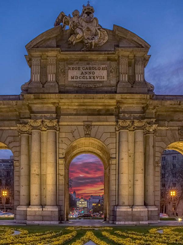 Экскурсии по Мадриду: Триумфальная арка Пуэрта-де-Алькала