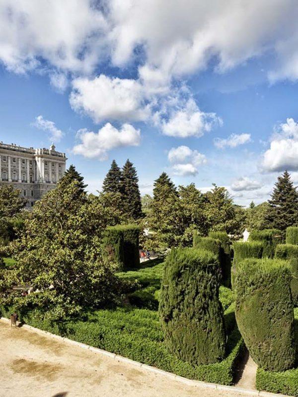 Достопримечательности Мадрида: Сады Сабатини