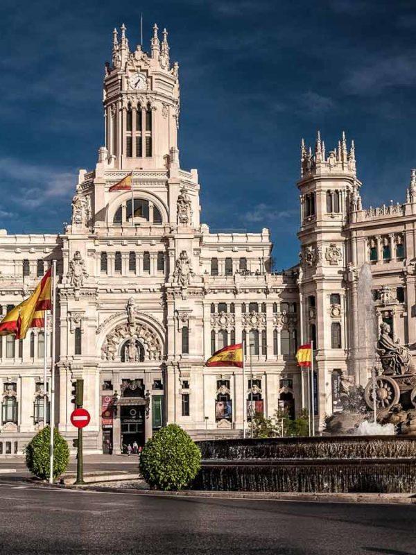 Достопримечательности Мадрида: Площадь Сибелес